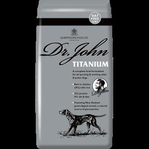 Dr John - Gilbertson & Page Dog Foods