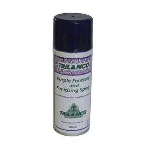 Purple Footcare And Sanitising Spray