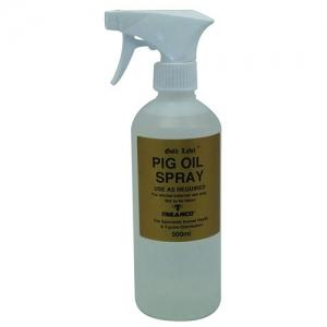Pig Oil Spray and Sulphur Powder