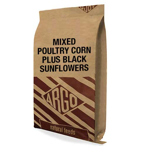 Argo Feeds - Mixed poultry corn plus sunflowers
