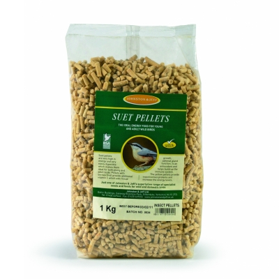 J & J Suet Pellets with Insects 1 kg