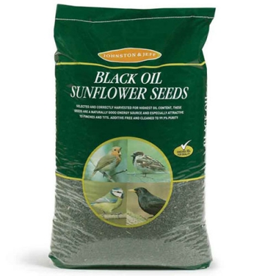 Johnston & Jeff Wild Bird Food - black oil sunflower seeds