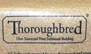 Thoroughbread shavings